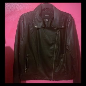 Forever 21+ Faux Leather Moto style jacket